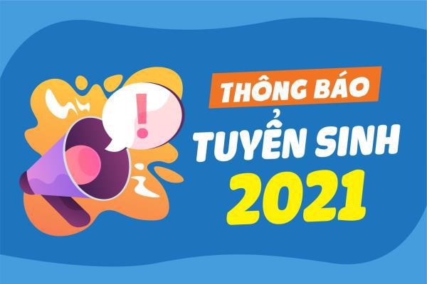Thông báo về việc Tuyển sinh hệ liên thông trình độ cao đẳng, Năm học 2021 – 2022